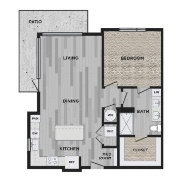 205 floor plan